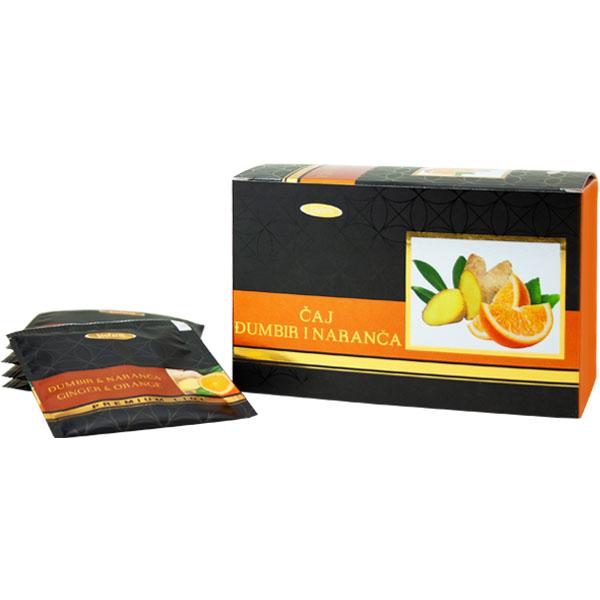 Čaj Đumbir + naranča (40 g)