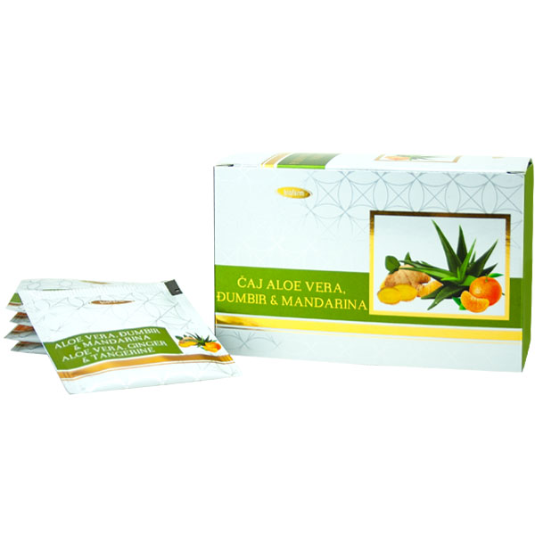 Čaj Aloe vera, Đumbir i Mandarina (30 g)