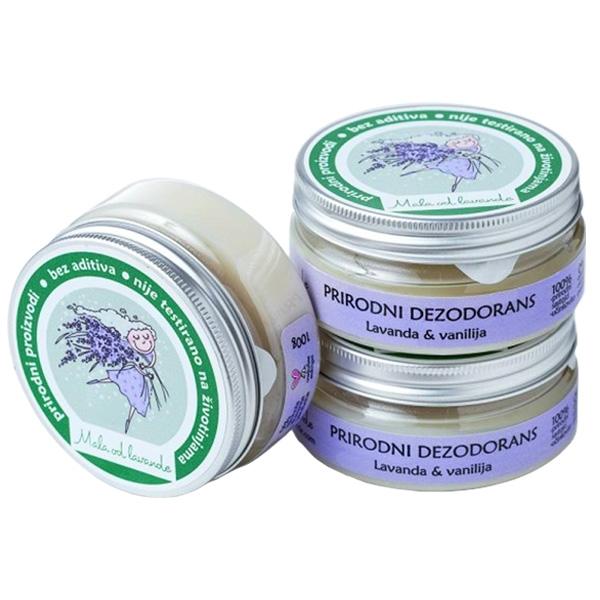 Prirodni dezodorans Lavanda i Vanilija - Mala od lavande