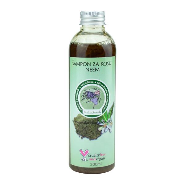 Šampon za kosu Neem - Mala od Lavande