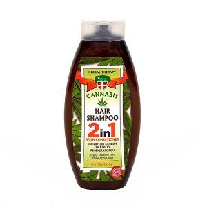 Šampon za kosu od konoplje 2U1 - Herbal Therapy