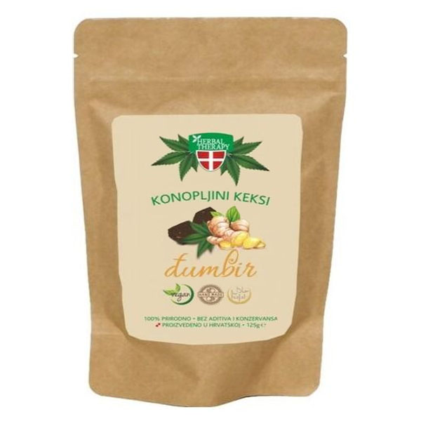 Keksi od konoplje Đumbir - Herbal Therapy