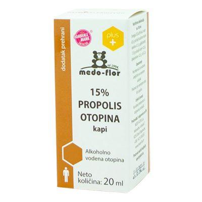 Propolis kapi 15% (20 ml) - Medo-flor