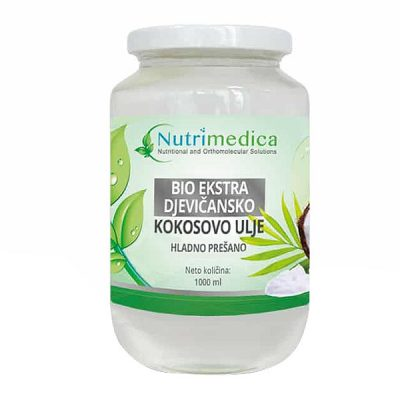 Bio ekstra djevičansko kokosovo ulje (1000 ml) - Nutrimedica