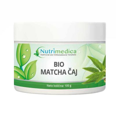Bio Matcha čaj (100 g) - Nutrimedica