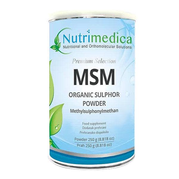 MSM prah (250 g) - Nutrimedica
