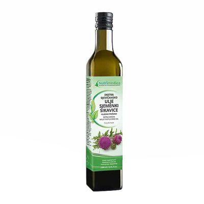 Ekstra djevičansko ulje sjemenki sikavice (250 ml) - Nutrimedica