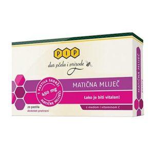 Matična mliječ pastile (450 mg) - PIP
