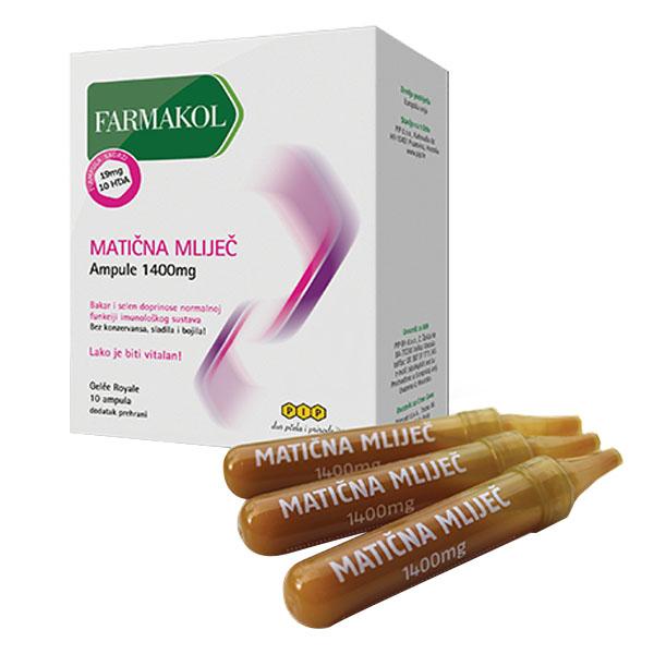 Matična mliječ ampule (1400 mg) - PIP