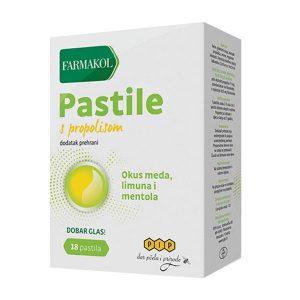 Pastile s propolisom - PIP