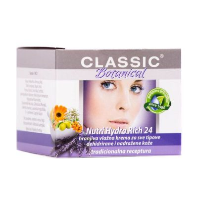 Classic Botanical - Hydro Rich krema za lice (50ml)