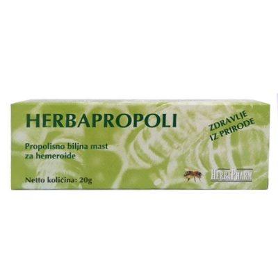 HerbaPharm - Herbapropoli - propolisno biljna mast za hemeroide (20g)