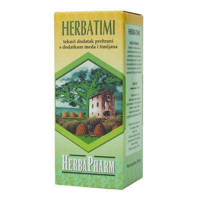 HerbaPharm - Herbatimi sirup (200ml)