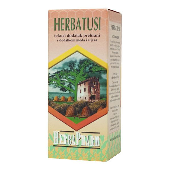 HerbaPharm - Herbatusi sirup (200ml)