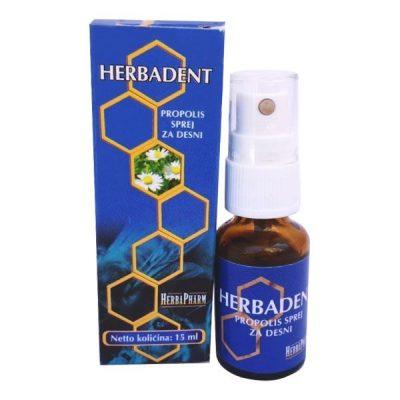 HerbaPharm - Herbadent - Propolis sprej za desni (15ml)