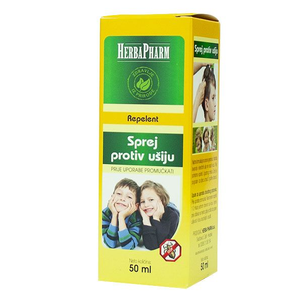 HerbaPharm - Sprej protiv ušiju (50ml)