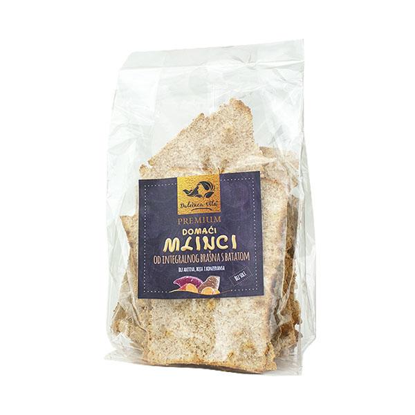 Mlinci od integralnog brašna s batatom - OPG Kovačić