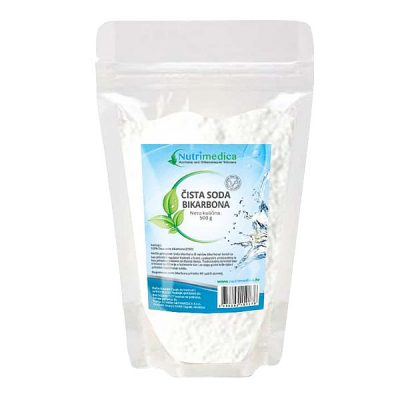 Soda bikarbona (500 g) - Nutrimedica
