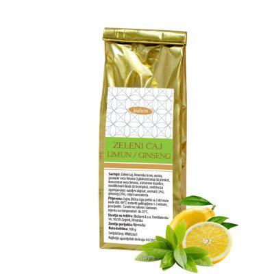 Zeleni čaj Limun Ginseng