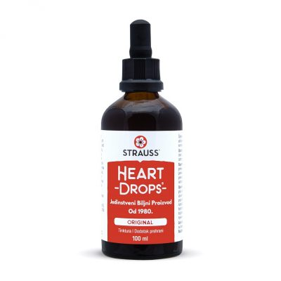 Strauss Heartdrops – kapi za srce 100ml